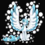 blue fantisa unicorn