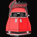 Camaro 69 - Red