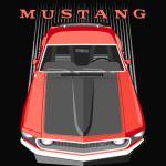 Mustang 69 - Red