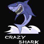 Crazy Shark T-Shirt