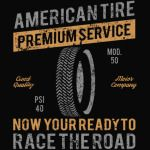 American Tire Premium Service T-Shirt