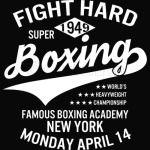 Fight Hard Boxing T-Shirt