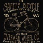 Safety Bicycle Retro Vintage T-Shirt