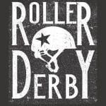 Roller Derby Girls T-Shirt - Rollerskating Derby T-Shirts