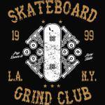 Skateboard Grind Club T-Shirt
