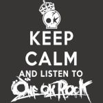 one ok rock keep calm