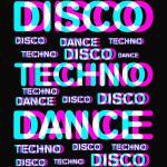Disco dance Techno PARTY T SHIRT
