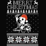 Jack Skellington Ugly Christmas Sweater Thong Customoncom