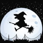 Witch Halloween Monster Moon Costume Magic Wizard
