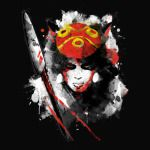 RED PRINCESS Princess Mononoke