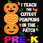 I Teach The Cutest Pumpkins In The Patch Pre-K Halloween