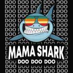 Mama Shark Baby Mommy Daddy Matching Family Shark Shirt