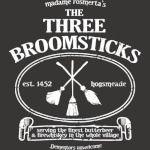 THE THREE BROOMSTICKS SIGN