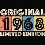 1968-vintage-RETRO 50th birthday