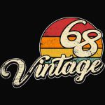 Vintage 1968-50th birthday