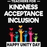 Teachers Unity Day T-shirts Anti Bullying Teachers