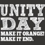 Unity Day 2018 -Oranget Shirt For Againsts Bullying