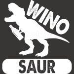 Winosaur For Wine Lover