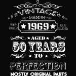 1969 perfection 50th birthday