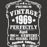 vintage 1969 50th birthday