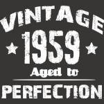 1959 vintage 60th birthday shirt