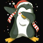 Christmas Penguin Dabbing