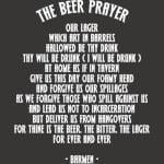 The Beer Prayer Quotes