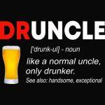 Druncle Beer T shirt