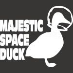 Majestic Space Duck