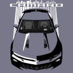 Camaro 6th SS - Bright Transparent/Multi Color
