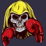 Boxing Glove Skull