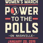 Nashville women march power to the polls