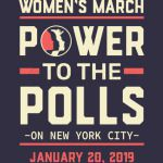 NEW YORK CITY women march power to the polls