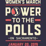 Sacramento women march 2019 power to the polls