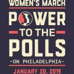 PHILADELPHIA women march 2019 power to the polls