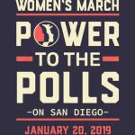 San-Diego women march 2019 power to the polls