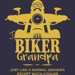 Biker Grandpa Funny