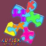 Autism Awareness Puzzle Man 2