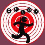 Chuck Ninja Man Target Board 3