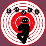 Chuck Ninja Man Target Board Classic