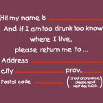 Drunk Address
