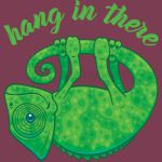Hang In There Magical Chameleon