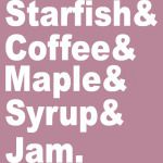 Starfish Coffee Maple Syrup Jam