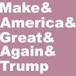 Make America Great Again Trump