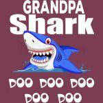 Grandpa Shark Doo Doo Doo Doo T Shirt