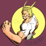 ALL MIGHT PLUS ULTRA