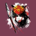 RED PRINCESS Princess Mononoke