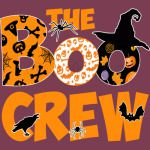 Halloween Shirt Cute Boo Crew Tee