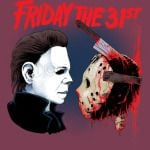 Halloween MICHAEL MYERS AND Jason Voorhees