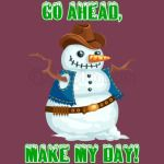 cowboy-snowman-